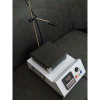 Hot Plate with Magnetic Stirrer, PID Digital Temperature Control, Clockwise & Anti-Clockwise Stirring Speed Control, In Stock