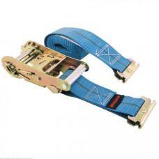 "Ratcheting Logistic Strap, 2"" x 16',  Tie Down 3500 lb Blue, Erickson USA"